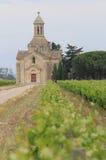 Chapelle de Montcalm, Vauvert, Frankreich Lizenzfreies Stockbild