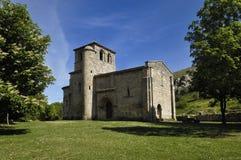 Chapelle de notre Madame de la vallée, Monasterio de Rodilla, La Bureba, photo libre de droits
