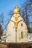 Chapelle de Prokhorov dans le couvent de Novodevichy, Moscou Image stock