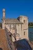 Chapelle de Saint Nicolas sur le pont de saint-Benezet. Avignon, France Photos stock