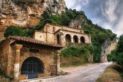 Chapelle de Santa Maria de la Hoz Photo stock