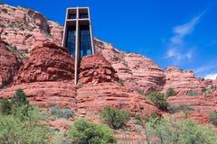 Chapelle de Sedona Images libres de droits