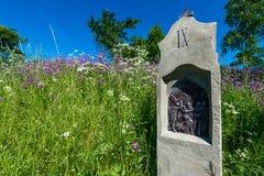 Chapelle de St Anne sur Vysker Images stock