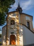 Chapelle de St Barbora dans Zdar NAD Sazavou Photo stock