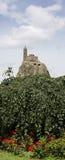 Chapelle de St Michael sur la roche d'Aiguilhe Images libres de droits