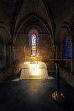 Chapelle de subsistance de château de Douvres Photos libres de droits