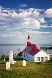 Chapelle de Tadoussac Photos stock