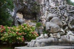 Chapelle de Vierge de Covadonga Images libres de droits