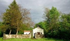 Chapelle de village Photos stock