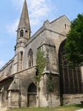 Chapelle des Cordeliers,昂古莱姆(法国) 免版税库存图片