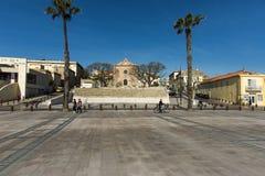 Chapelle des Penitents Bleus kunstgaleriela Ciotat Stock Fotografie