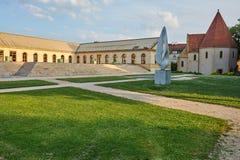 Chapelle des Templiers The Templars Kapel in Metz Frankrijk stock afbeeldingen