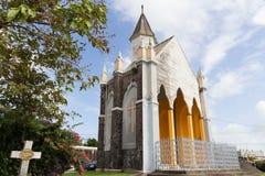 Chapelle du Calvaire,堡垒de法国,马提尼克岛海岛 库存照片