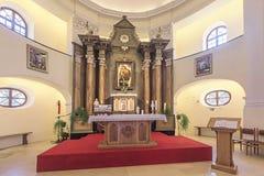 Chapelle du morceau dans Sresmki Karlovci, Serbie photo stock