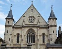 Chapelle du musée des arts et des métiers Image stock