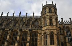 Chapelle du ` s de St George, Windsor Castle, Angleterre Image stock