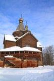 Chapelle en bois photographie stock libre de droits