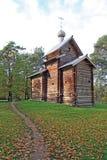 Chapelle en bois Image stock