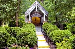 Chapelle en bois Photo stock