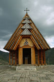 Chapelle en bois Photos stock
