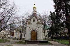 Chapelle en l'honneur de la transfiguration de notre sauveur dans Kremlin Nizhny Novgorod Photos stock