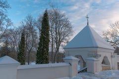 Chapelle en parc photographie stock libre de droits