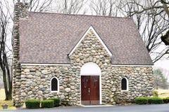 Chapelle en pierre photo libre de droits