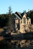 Chapelle en pierre verticale Images libres de droits
