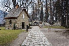 Chapelle Gasienicow dans Zakopane Photographie stock