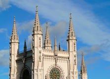 Chapelle gothique image libre de droits