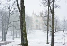 Chapelle gothique photographie stock