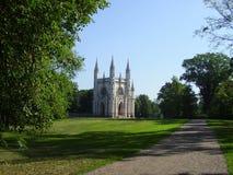 Chapelle gothique dans le peterhof Image libre de droits