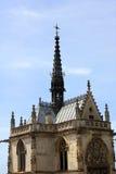 Chapelle gothique de Hubert de saint Image libre de droits