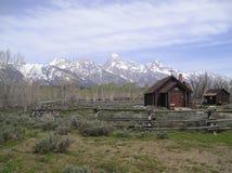 Chapelle grande de Teton Photographie stock libre de droits