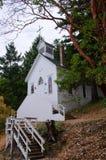 Chapelle historique, San Juan Island, Etats-Unis Image libre de droits