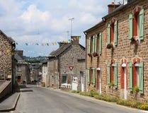 Chapelle Janson wioska Francja w przygotowaniu do tour de france obraz royalty free