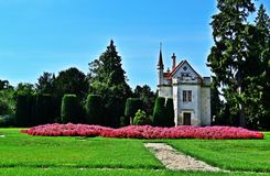 Chapelle of Lednice Palace Stock Photo