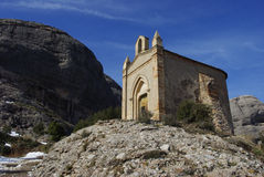 Chapelle Montserrat Image libre de droits