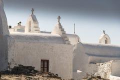 Chapelle Mykonos Grèce de Waterside Photographie stock libre de droits