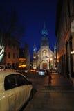 Chapelle Notre Dame de bonsecours à Montréal image stock