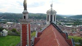 Chapelle Notre Dame de la Salette Vienne Frankrike arkivfilmer