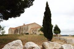 Chapelle Notre Dame des Marins near Martigues, France Stock Images