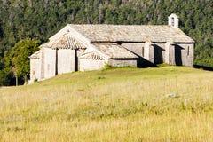 Chapelle Notre-Dame près de Vergons Photos stock