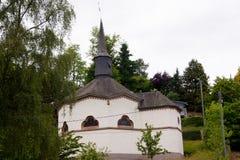 Chapelle-octogonale sainte gunegonde, heiderocheidergrund, Luxemburg Lizenzfreie Stockbilder