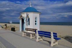 Chapelle orthodoxe en Grèce Image stock