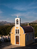 Chapelle orthodoxe grecque en Crète, Grèce Photographie stock libre de droits