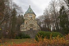 Chapelle pour le Roi Ludwig de la Bavière, Allemagne Photo stock