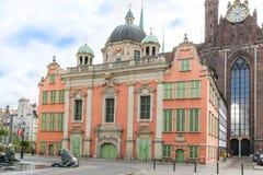 Chapelle real y St. Mary Church, Gdansk Fotos de archivo