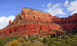 Chapelle rouge Sedona Arizona de gorge de roche Images libres de droits