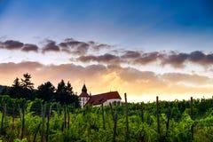 Chapelle Saint-Sebastien de Dambach-la-Ville , Alsace Royalty Free Stock Photo